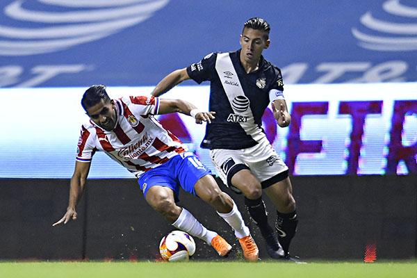 Puebla y Chivas, empataron en el Estadio Cuauhtémoc
