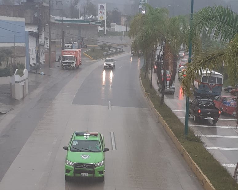 Operativo Carrusel en bulevar Xalapa-Coatepec