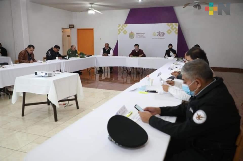 Autoridades estatales sostuvieron Mesa para la Construcción de la Paz en Fortín