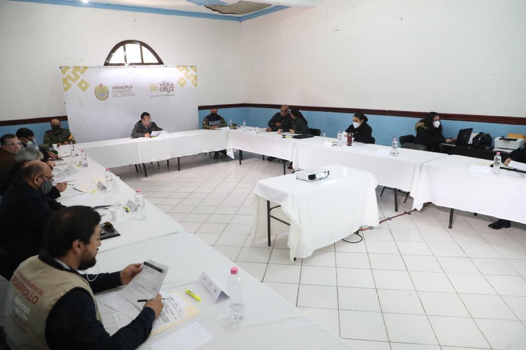 Mesa para la Construcción de la Paz sesionó en Zontecomatlán
