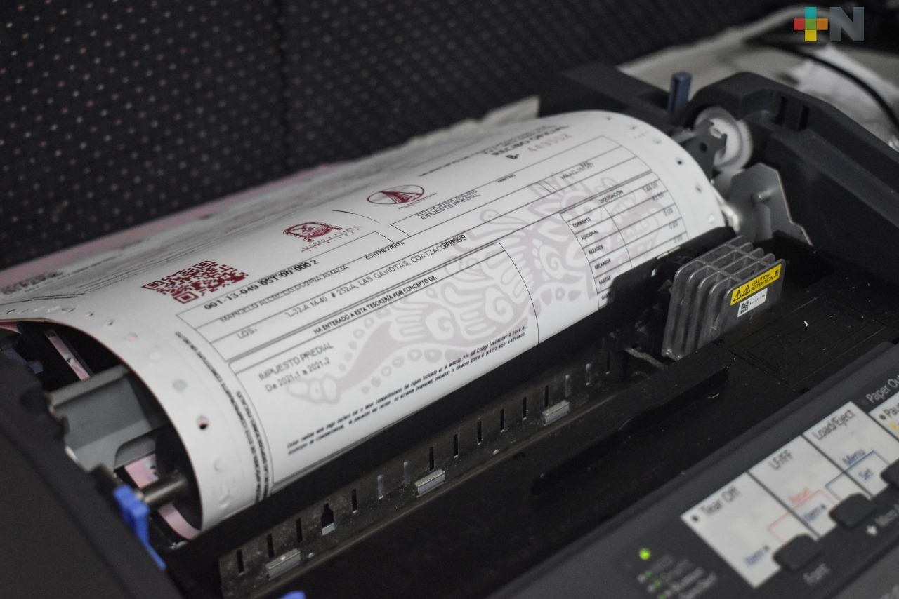 Prevén incremento del 40 %   en recaudación en pago del predial por medios digitales