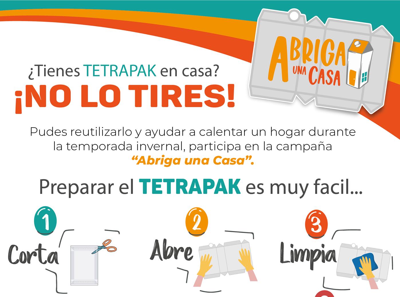 Ayuntamiento de Xalapa se suma a colecta de Tetra Pak para recubrir viviendas en zonas serranas