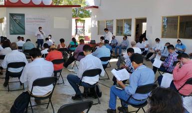 Realizan asamblea de seguimiento de consulta indígena sobre Tren Maya en Tenosique