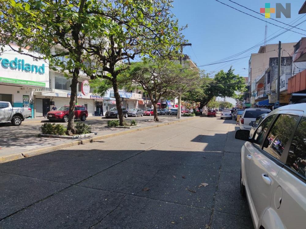 Autoridades estatales y municipales iniciaron operativo para reducir movilidad en Coatzacoalcos
