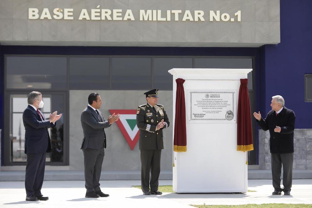 Inauguró AMLO primera etapa del aeropuerto internacional «Felipe Ángeles»