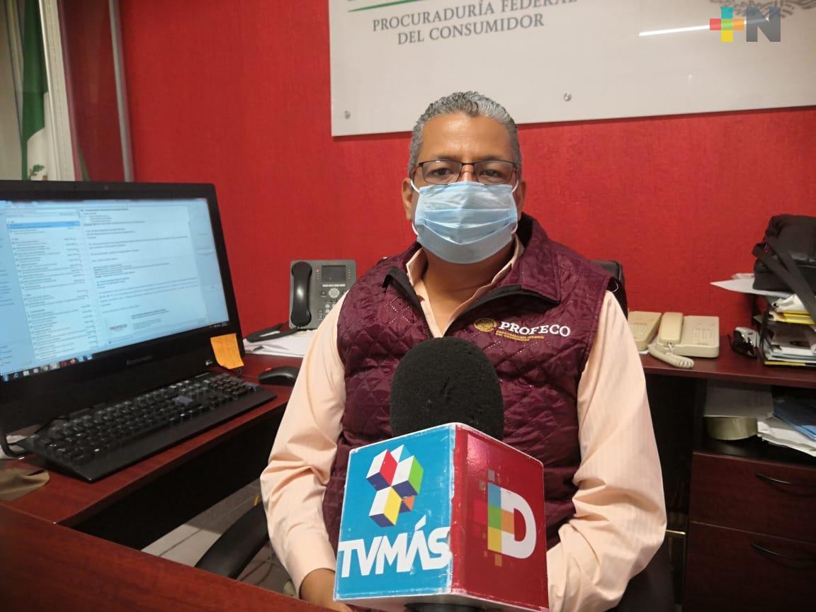 Profeco Veracruz no ha recibido quejas sobre tanques de oxígeno