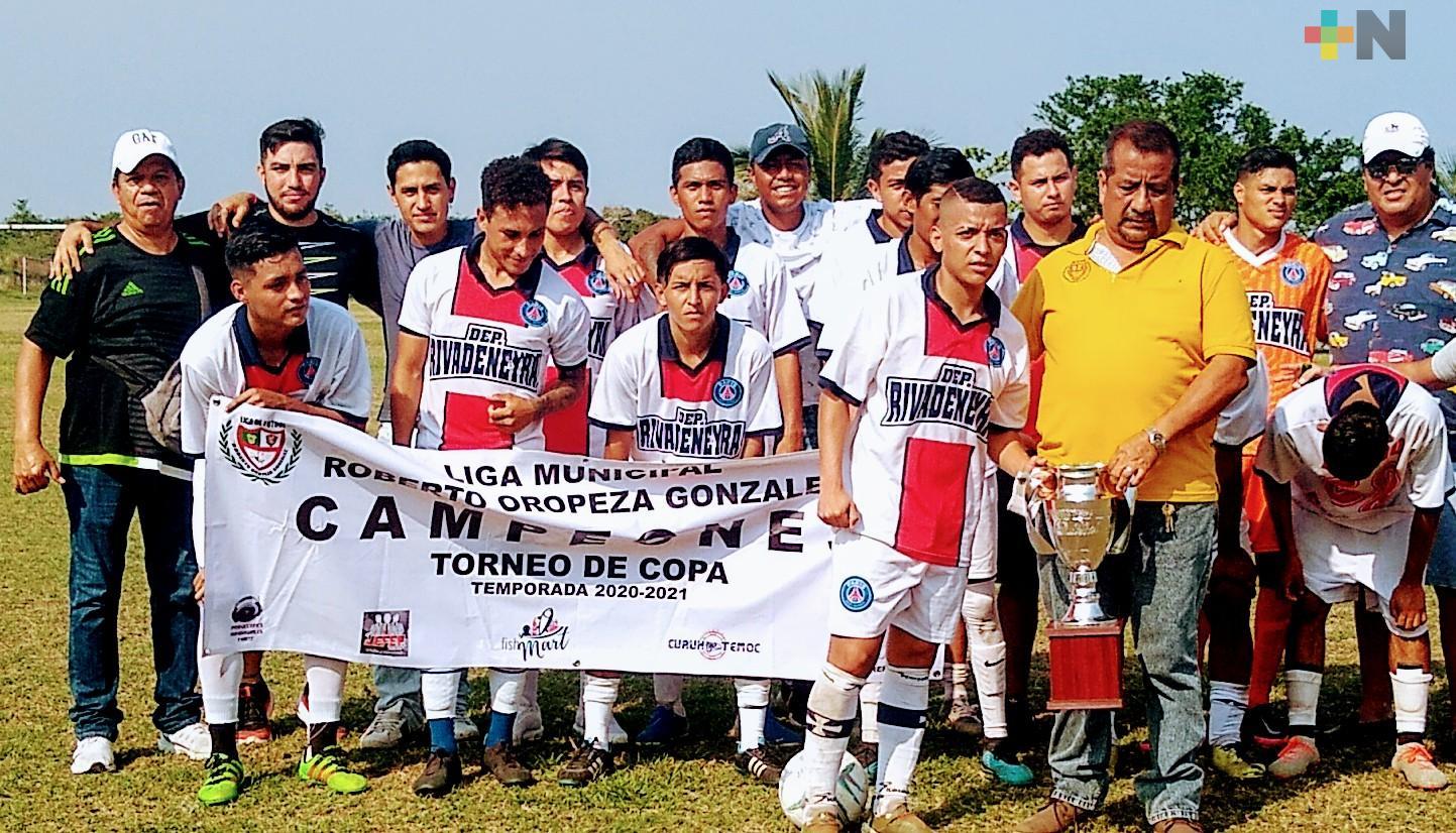 La Liga Oropeza definió campeones de seis categorías