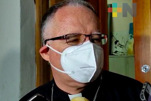 Obispo de Veracruz exhorta a aplicarse la vacuna contra COVID-19