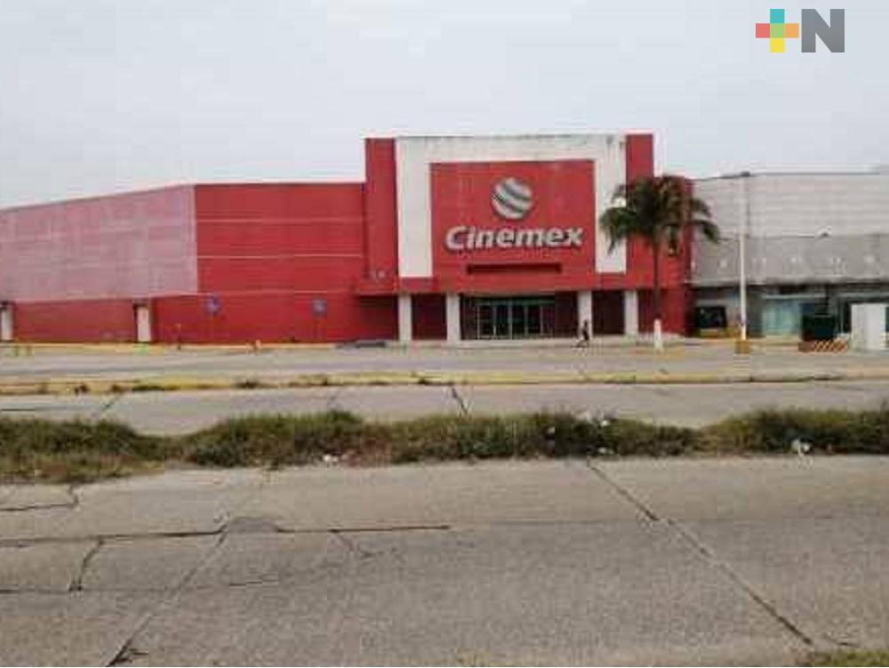 Cinemex Minatitlán y Coatzacoalcos Plaza el Palmar, dejaron de operar esta semana