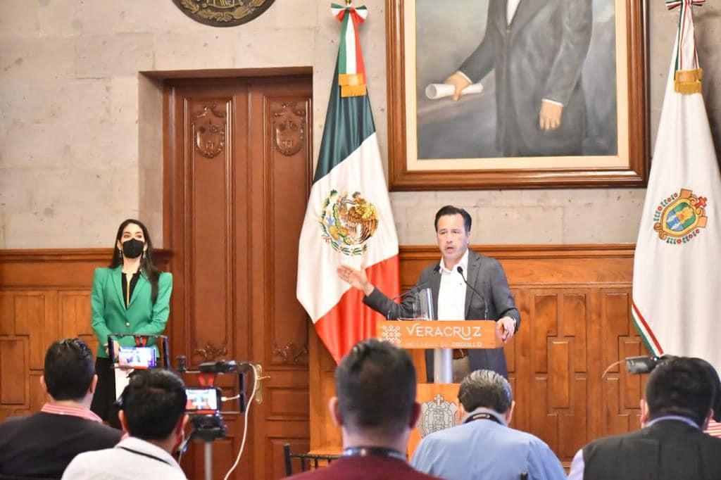 """«La fiscal General va dejando marca muy clara, no hay impunidad"""": Cuitláhuac García Jiménez"""