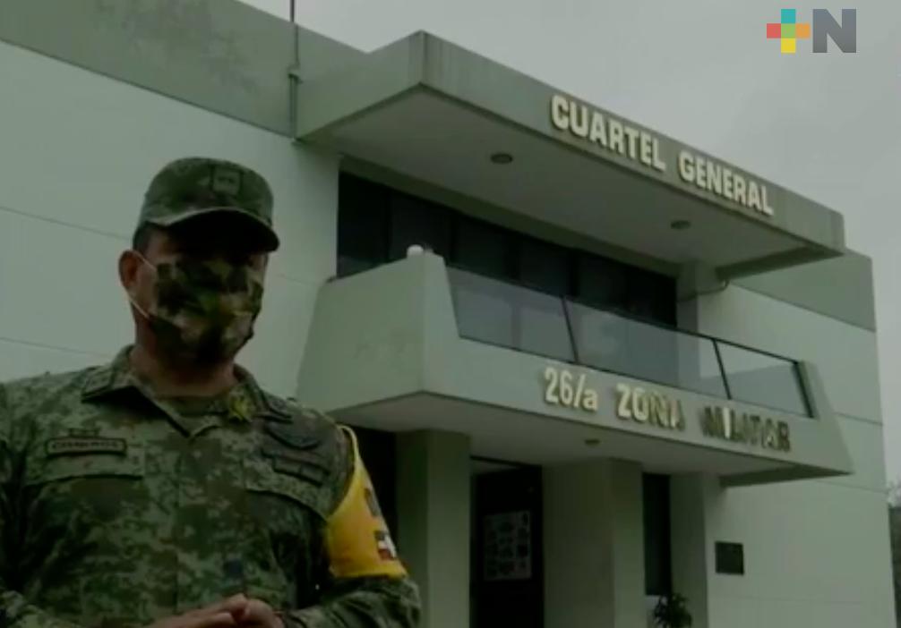 En el Día del Ejército Mexicano se reconoce la vocación y patriotismo