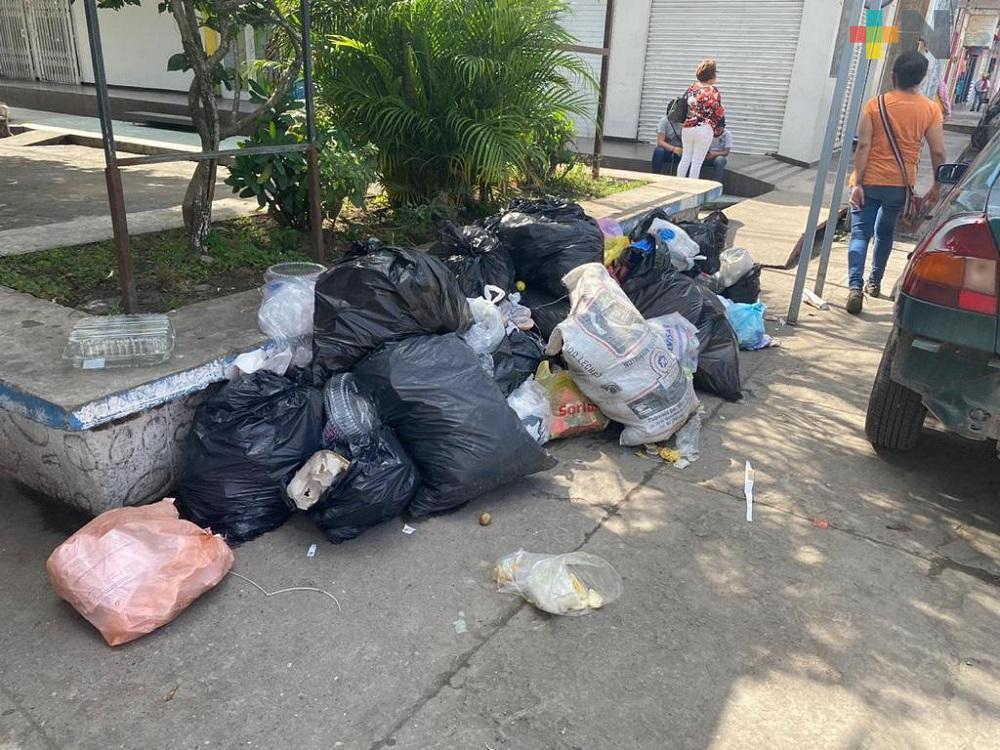 Difícil arraigar una cultura de la separación de la basura en la zona de Martínez de la Torre