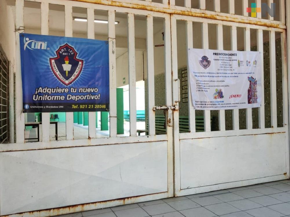 Para retomar clases presenciales, grupos de Educación Básica serán de menos alumnos, en Coatzacoalcos