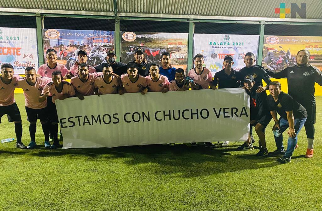 Mario Vera, DT de El Bayo, se dijo satisfecho con lo realizado en el Nacional de Futbol 7 Xalapa 2021