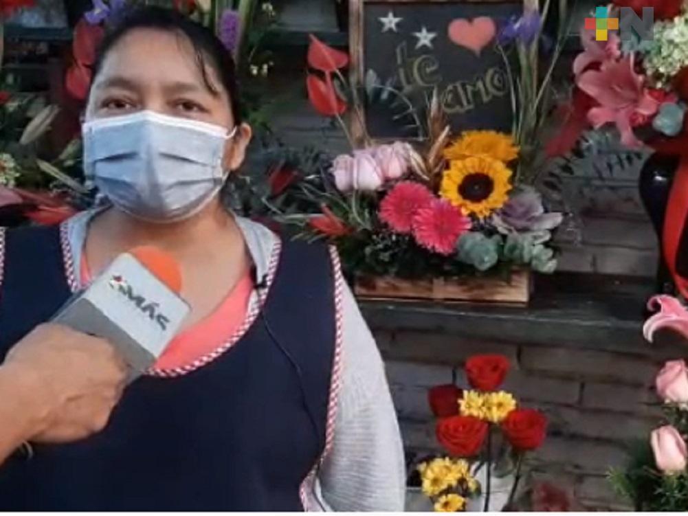 En Martínez de la Torre, floristas afectados por la pandemia