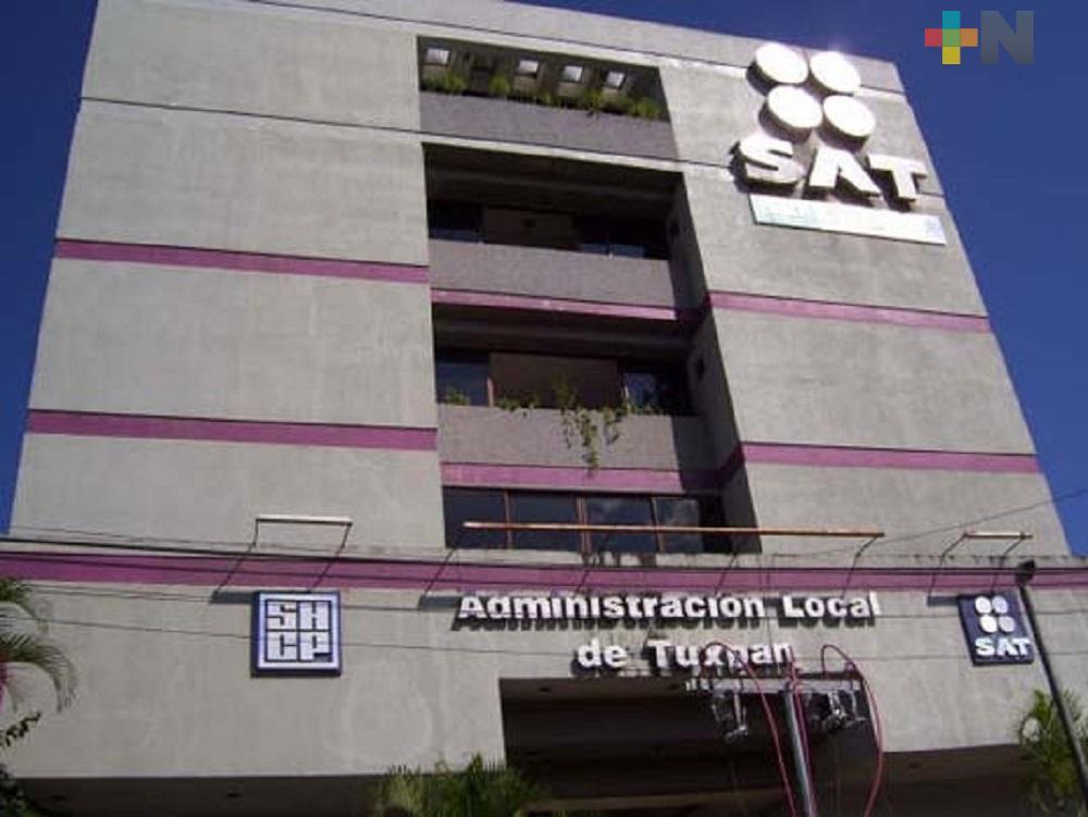 En Tuxpan, SAT modificará sus horarios de atención