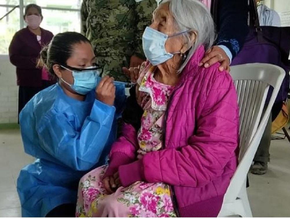 En dos días, 189 mil 70 dosis aplicadas contra COVID-19 a personas mayores de 60 años
