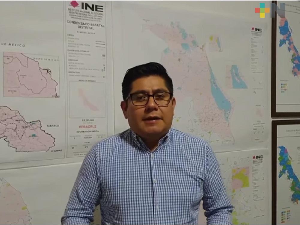 Morena, único partido en tener representación total en Consejos Distritales de Veracruz