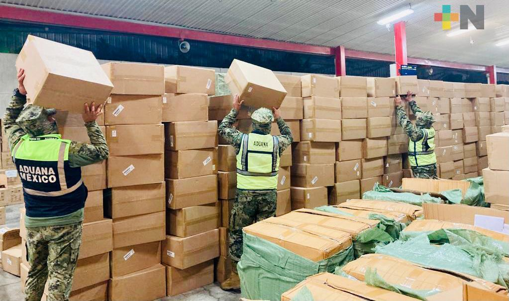 Frena Aduanas ingreso ilegal de 82 mil oxímetros y 27 mil pruebas COVID-19