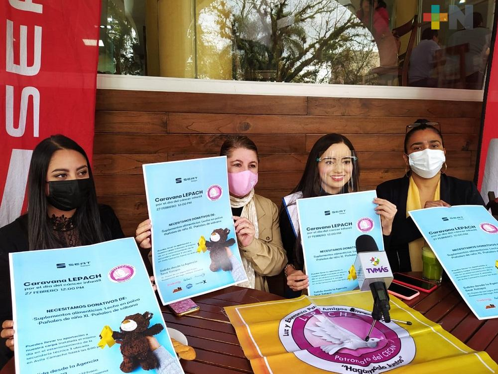 Fundación Lepach realizará caravana para recaudar suplementos alimenticios para niños con cáncer