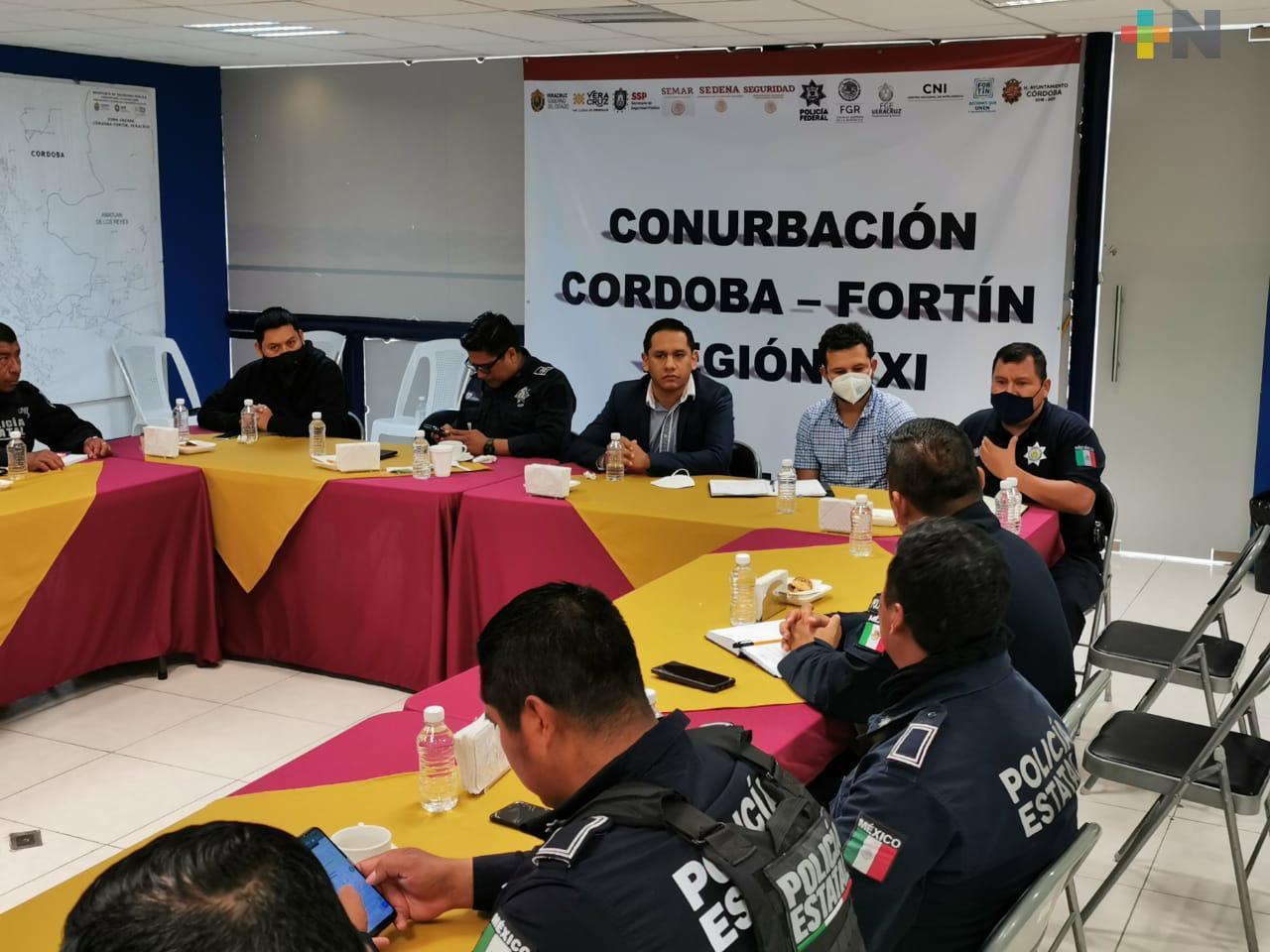 Sostiene CEAPP reunión con SSP y Fuerza Civil en región de las Altas Montañas