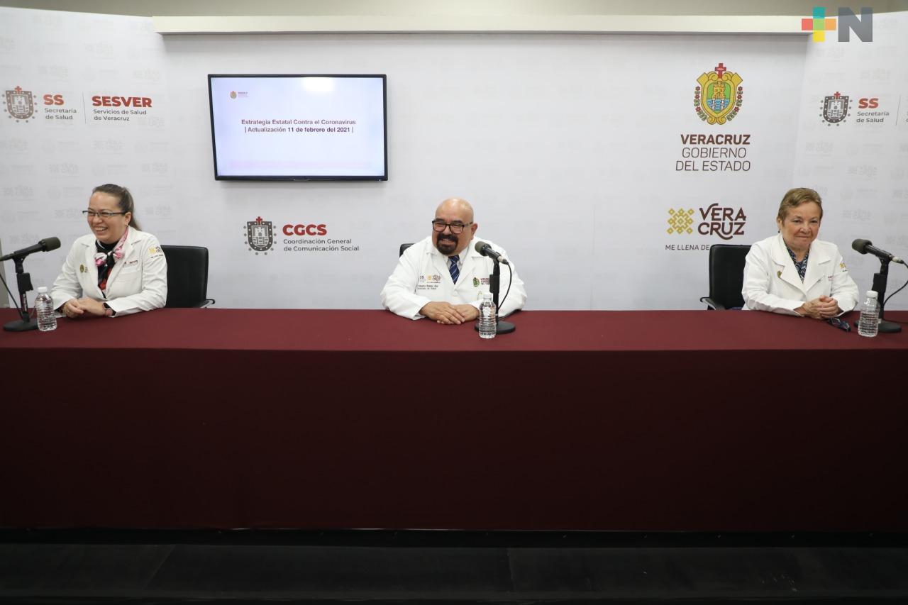 Se registran 239 casos nuevos positivos a COVID-19 en Veracruz