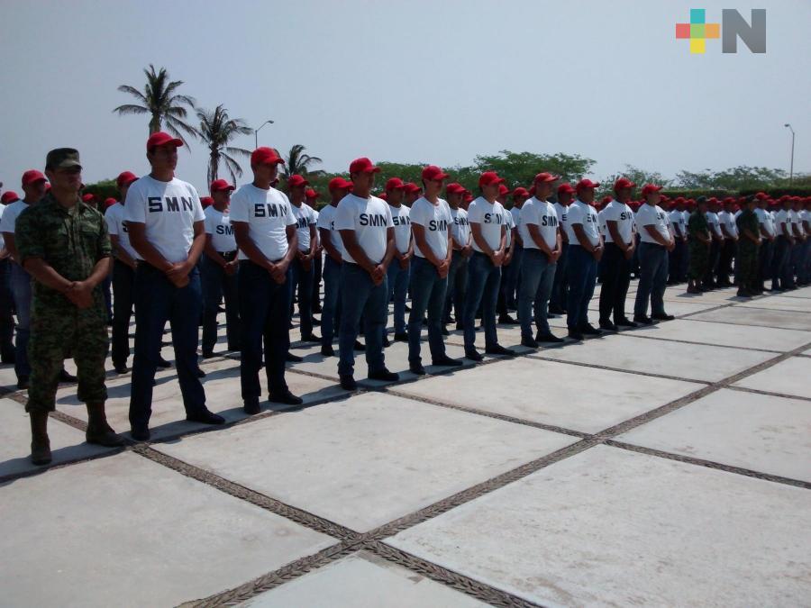 Continúa el trámite de Cartilla Militar en Tuxpan