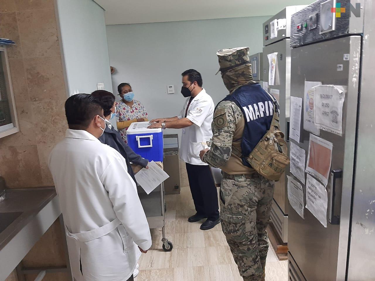 Llega segunda dosis de vacunas anti-COVID a clínicas del ISSSTE en Veracruz