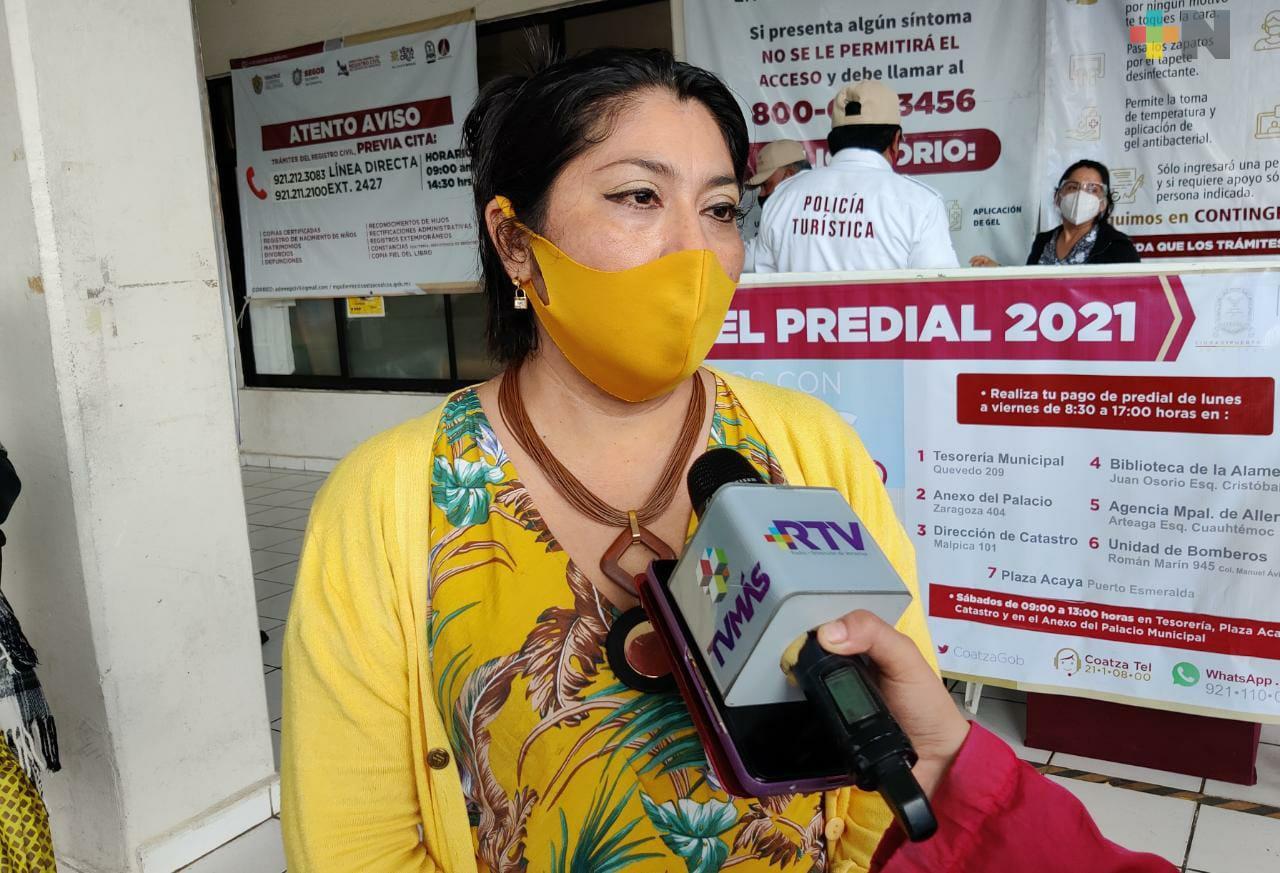 Corrección en actas de nacimiento aumentó demanda en Coatzacoalcos