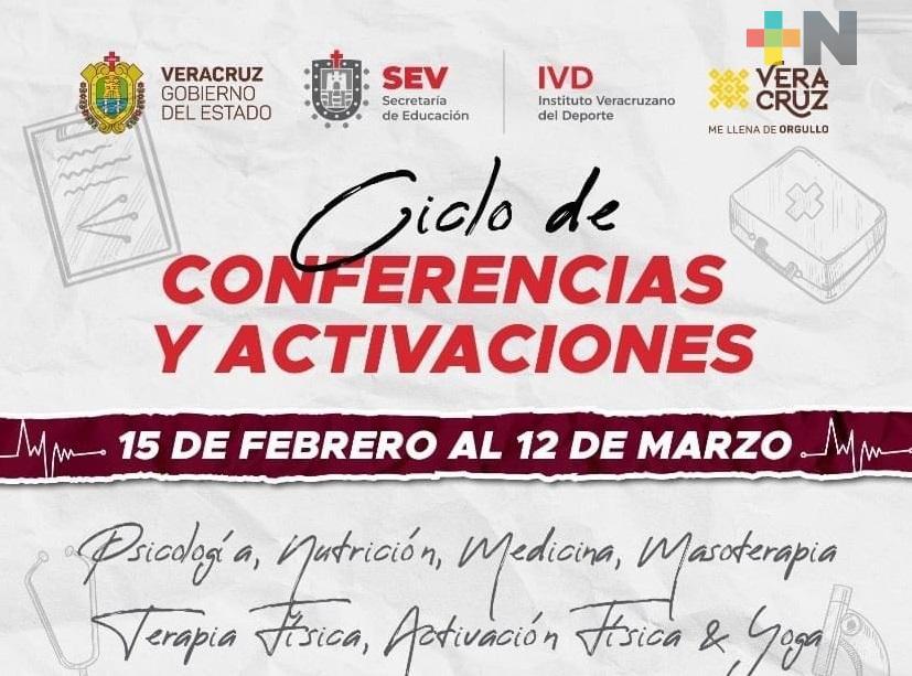 IVD inicia Ciclo de Conferencias y Activaciones