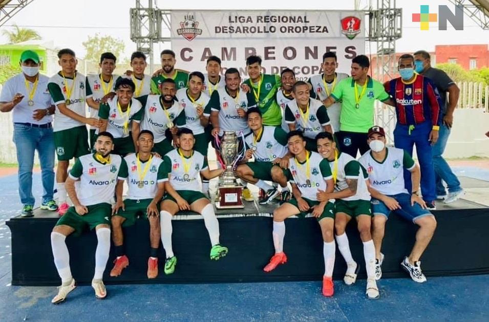 Piratas de Alvarado ganan la Copa, en Liga de Desarrollo