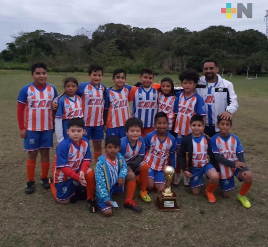 CDF campeón de Copa en dos categorías de Liga Municipal