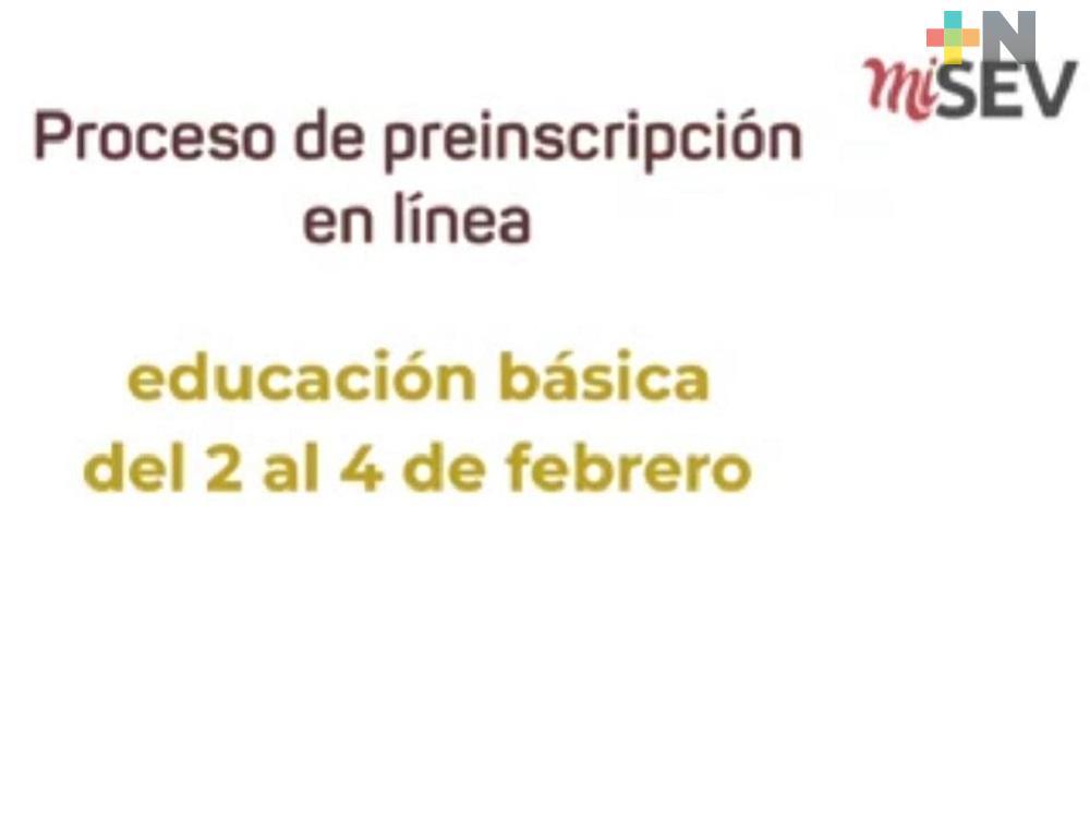 Iniciaron preinscripciones a nivel básico para el ciclo escolar 2021-2022 en la zona conurbada