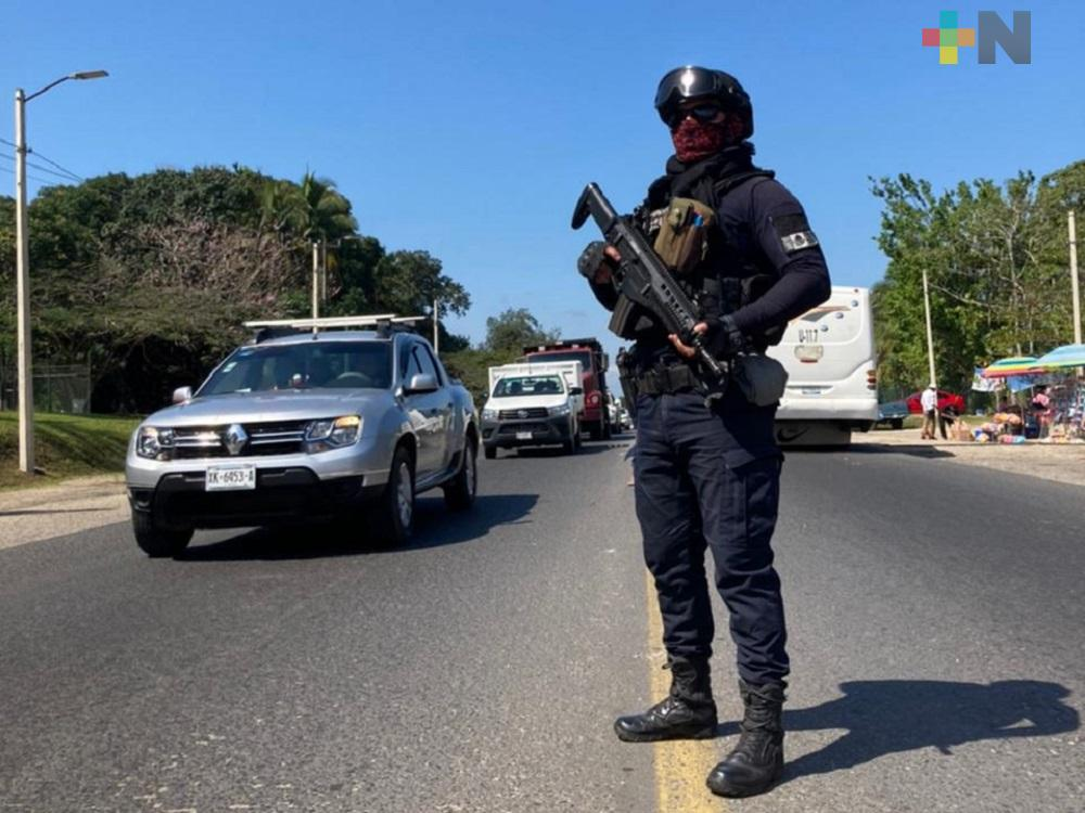 Intensifica SSP operativo tras hechos ocurridos en Cosoleacaque