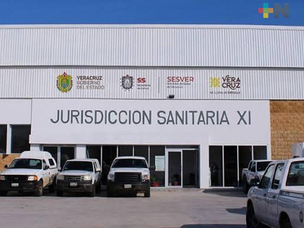 Jurisdicción Sanitaria XI exhorta a población a no bajar la guardia