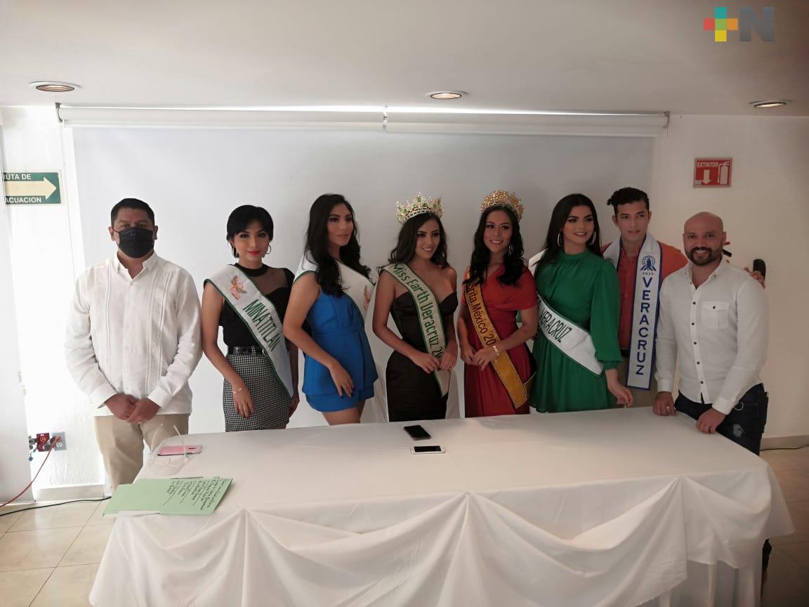 Miss Earth Veracruz se realizará con estrictos protocolos sanitarios