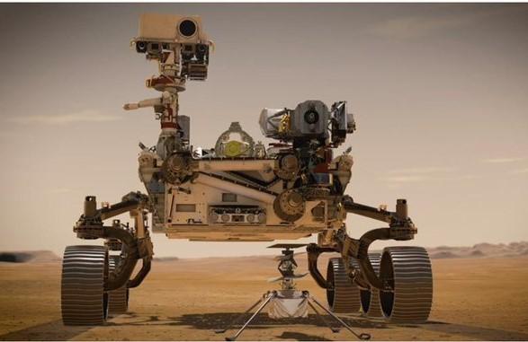 Nave Perseverance de la NASA, aterrizó este jueves en Marte