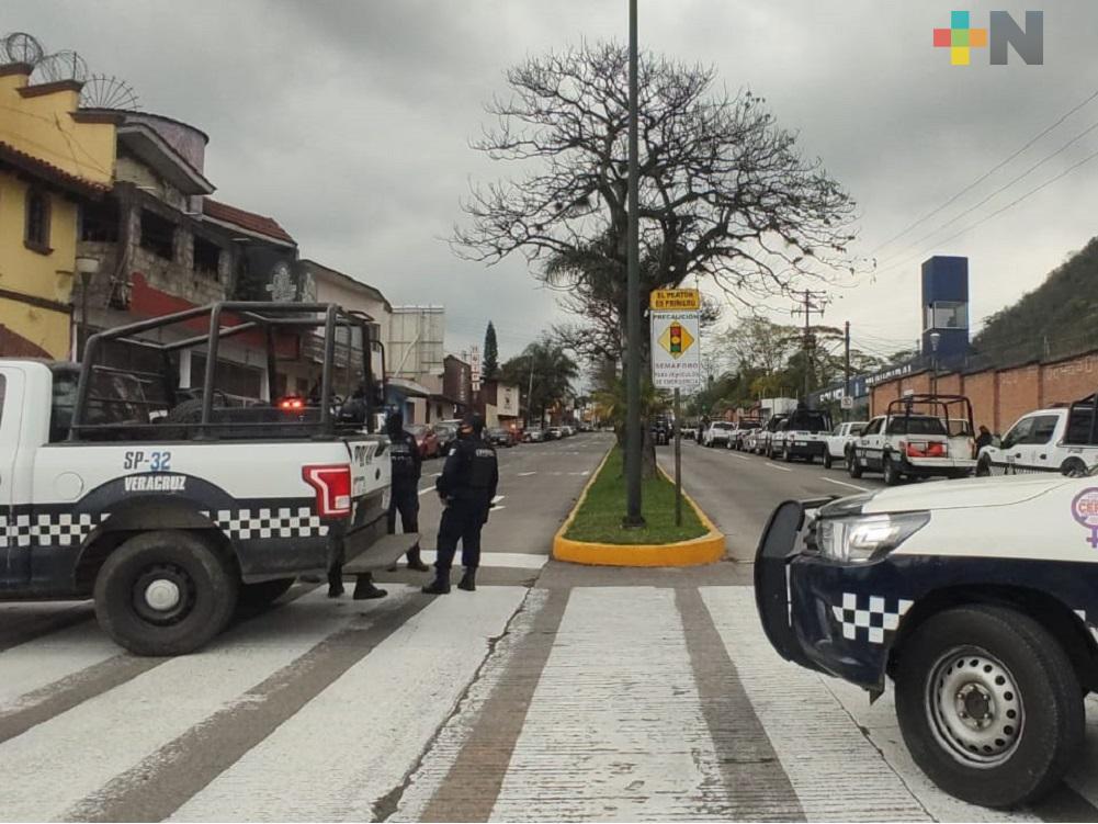 Mediante operativo, SSP revisa armamento a Policía Municipal de Orizaba