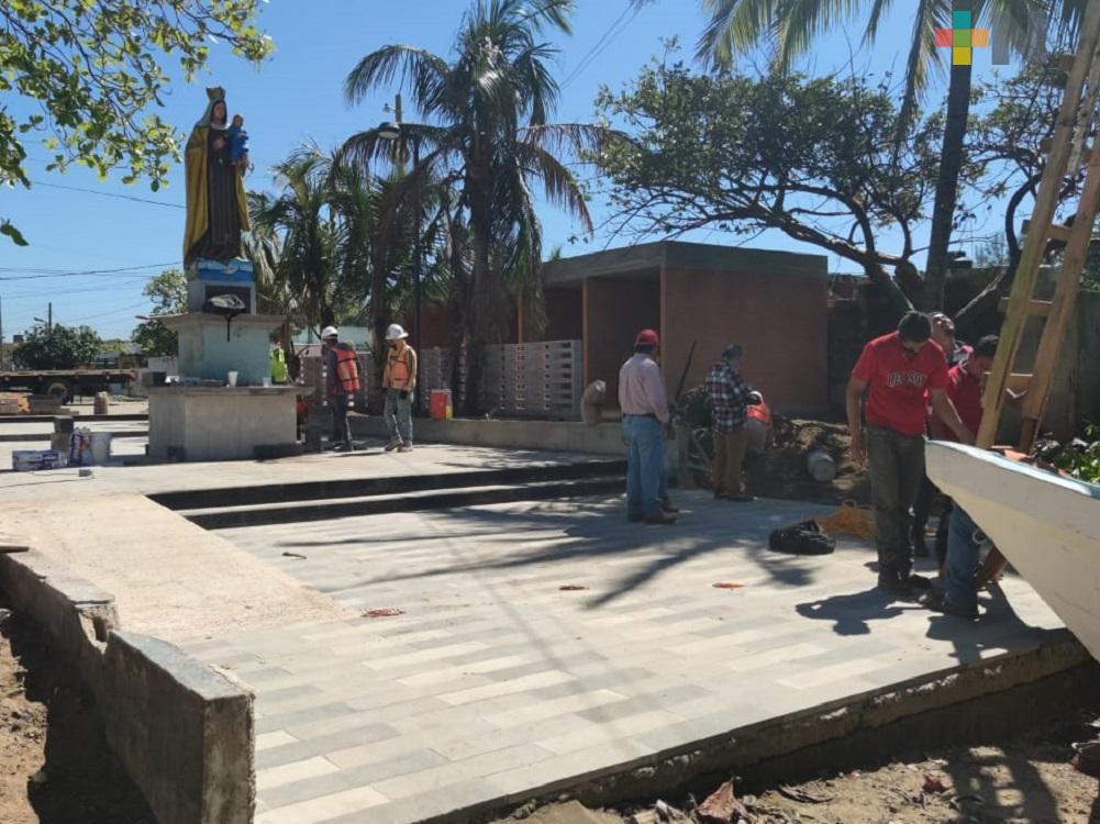 Funcionarios de la Sedatu supervisaron obras de mejoramiento urbano en Villa Allende