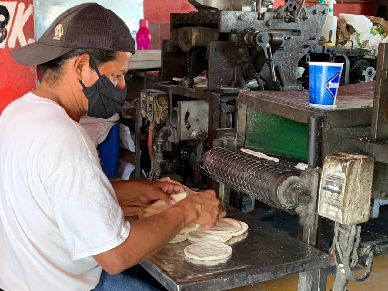 Algunas tortillerías de Coatzacoalcos aún no incrementan el precio del producto