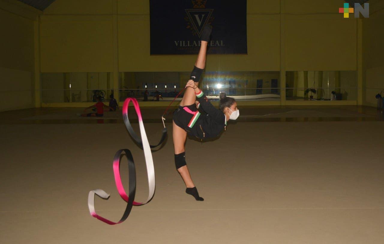 Siguen preparación gimnastas del Villarreal Centro de Alto Rendimiento