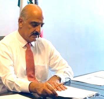 Se registró Ricardo Ahued para la municipal xalapeña por Morena