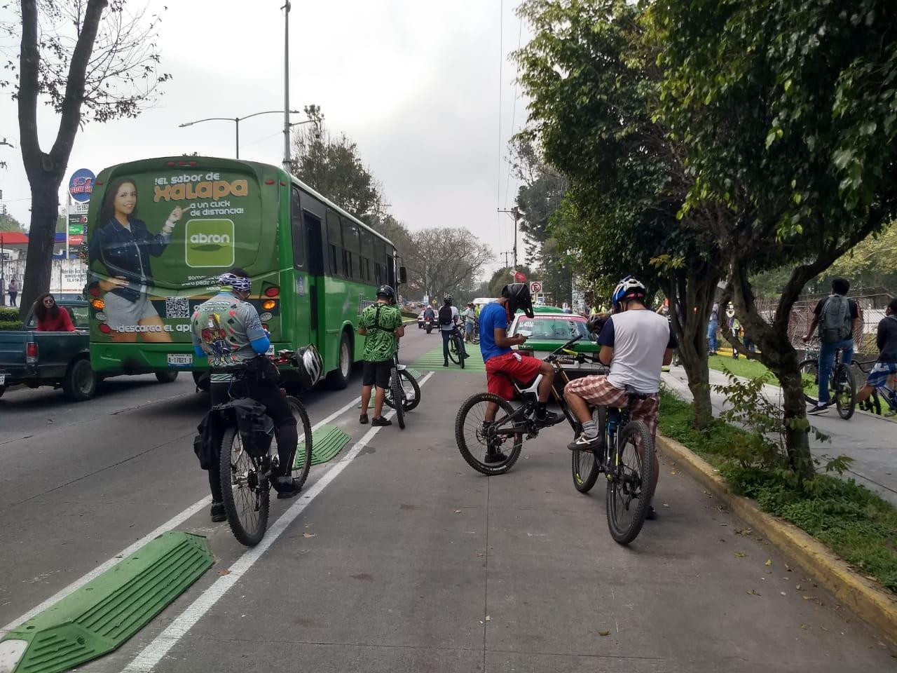 Reglamento y señalética de ciclovía de Xalapa estará lista antes de inauguración en marzo