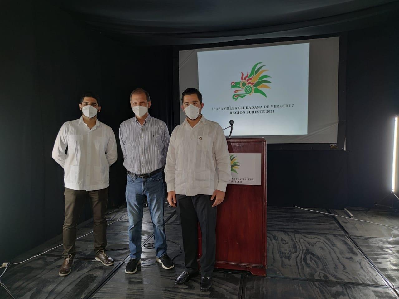 Se realizó en Coatzacoalcos la Asamblea Ciudadana Veracruz 2021