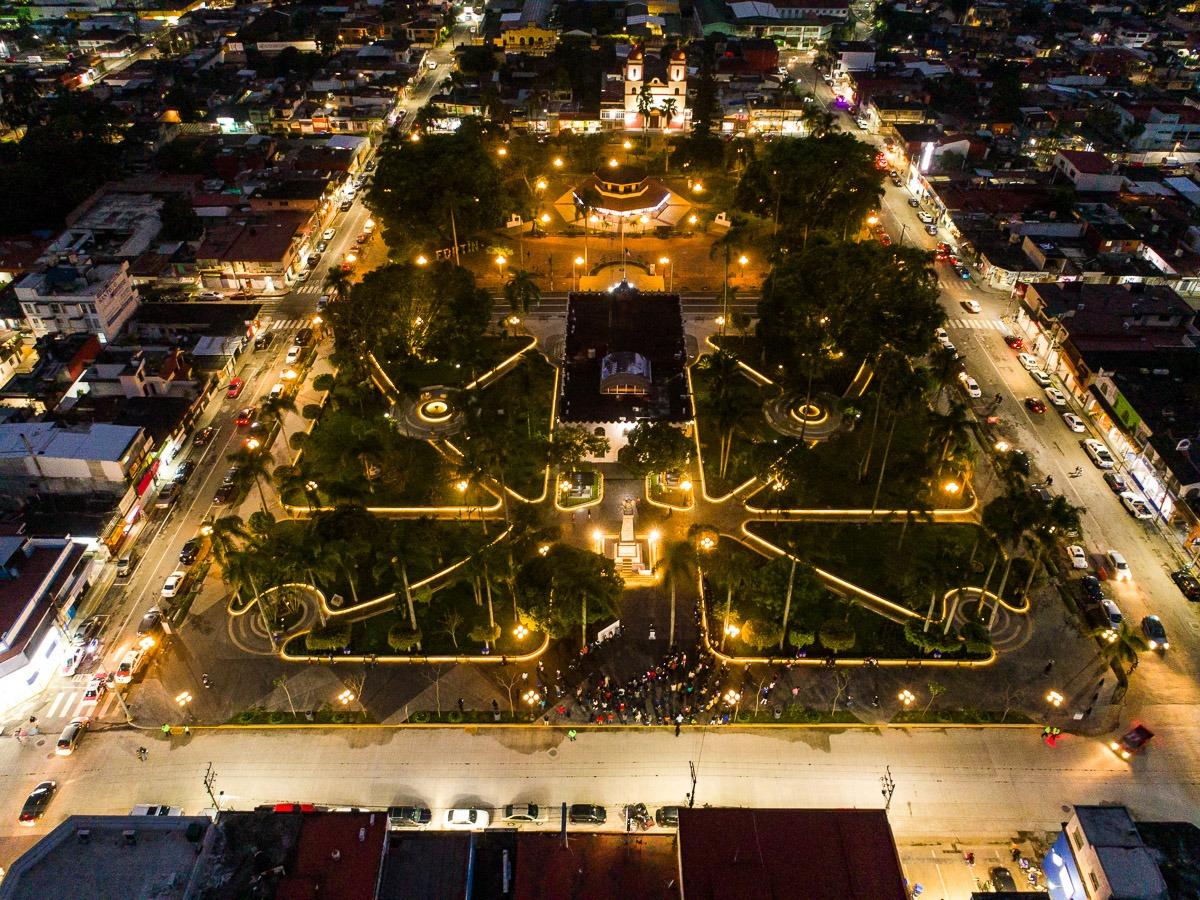 Concluyó la primera etapa del embellecimiento de Fortín, en la zona centro de Veracruz