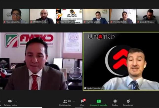 Veracruz participó en Congreso de Consejeros de Taekwondo