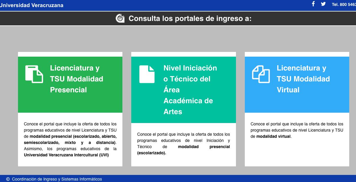 Universidad Veracruzana  publica convocatoria para ingresar al ciclo escolar agosto 2021-enero 2022