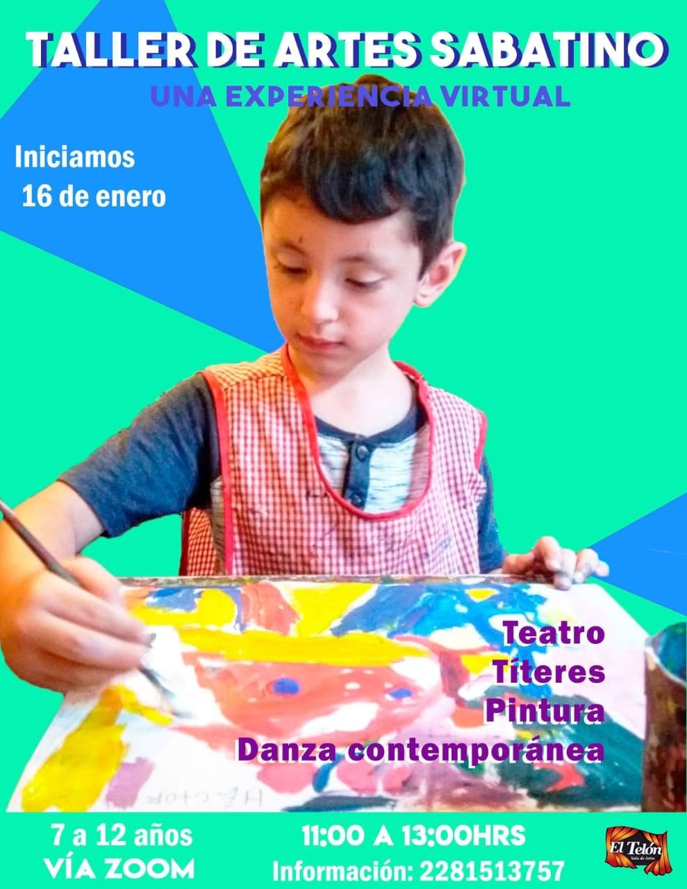 Invitan a los talleres virtuales impartidos por la Subdirección de Cultura de Xalapa