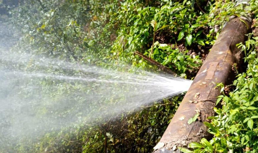 Por reparación de tubería, habrá corte de suministro de agua en colonias de Xalapa