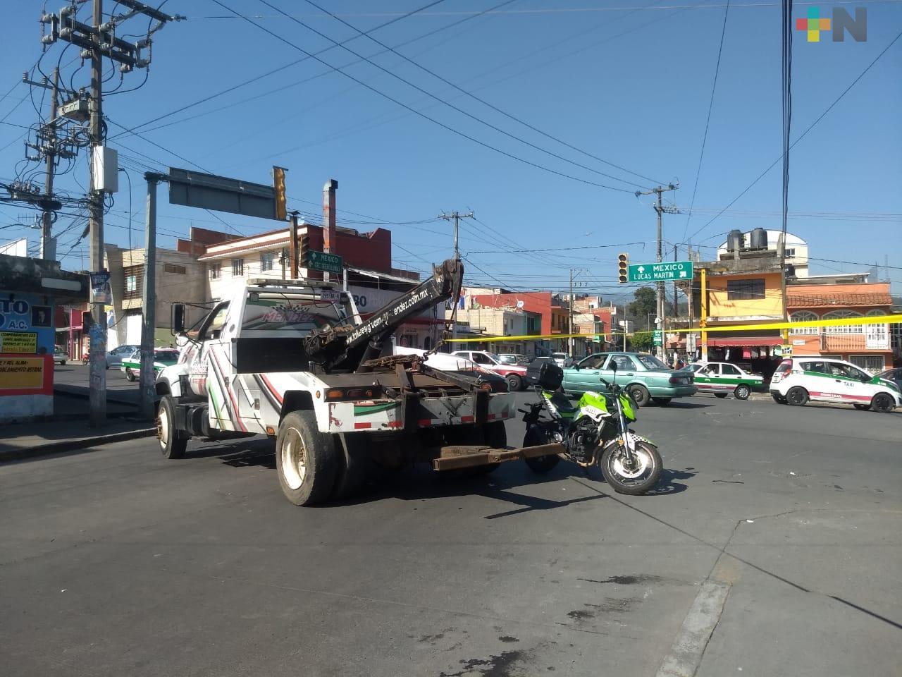 Cierre vial y operativo de PC en plazas comerciales de Xalapa